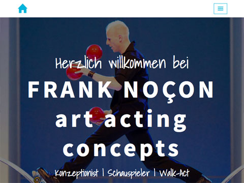 Art Acting Concepts Webentwicklung (One-Page-Website)